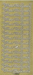 Selbstklebende Ziersticker eignen sich hervoragend für Encaustic Kunstkarten
