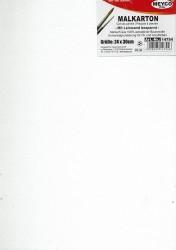 Malkarton für Öl- , Acryl- udn Encausticmalerei mit Leinwand bespannt und Unviversalgrundierung in Weiß
