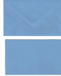 A Doppelkarten + Umschläge, Set B6, Hellblau