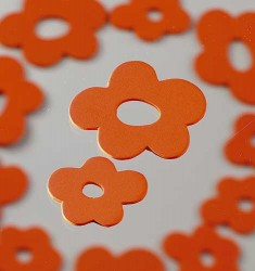 Streu Blüte Holz, orange
