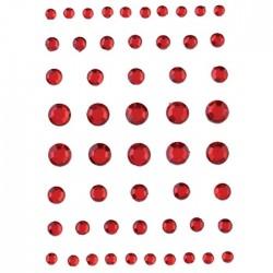 efco1504328Strass Acryl selbstklebend ro