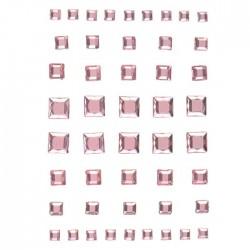 efco1504432Strass Acryl selbstklebend hellrosa