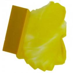 203-Unsere Künstler-Encaustic-Wachsblockfarbe Zitronengelb ist ein saftiger, frischer Gelbton, bestens geeignet für Stilleben und Landschaften insbesondere Mediterraner Art.