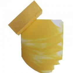 206-Die Encaustic Künstler Wachsfarbe Maisgelb ist ein zartes, zurückhaltendes Gelb, das sich hervorragend mit weiteren Gelb-und Grüntönen zu Farbkompositionen im Stile Noldes (Gartenbilder) einsetzen lässt.