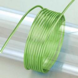 Aludraht, Ø 2mm, 5 m / ~ 42 g, hellgrün