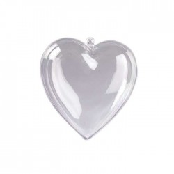 Kunststoff-Herz 60 mm, 1 Stk,