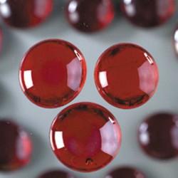 Glasnuggets rot irisierend sind hervorragend für Deko und Mosaik. Teelichter , Windlichter und Spiegelrahmen werden mit Mosaiksteinen wunderschön. Auch zum Auffüllen von Vasen und Gläsern.