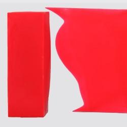"Knalliges Neon Rot, handgemachte Wachsfarbe  ""MADE IN GERMANY"" für Encaustic Painting"