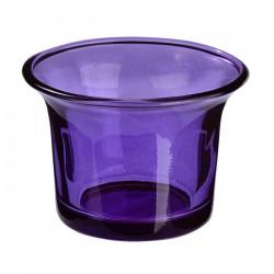 Lilafarbene Teelicht Gläser, kerzengläser für poppige Dekorationen oder orientalische Deko.