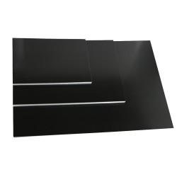 Auf den schwarzen, seidenmatten Encaustic Malkarten kann man tolle Winterlandschaften mit weißen und pastellfarbenen Encaustic Wachsfarben malen.