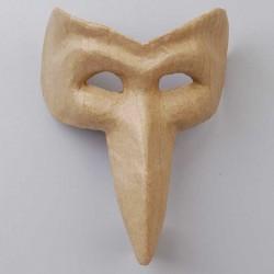 Maske aus Pappmaché, venezianischer Stil - Vogel