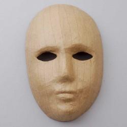 """Papp Art Maske zum Selbstgestalten """"Gesicht"""" 21,5 x 13,5 cm"""
