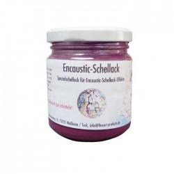 Encaustic Schellack, 100 g im Gläschen, Pink