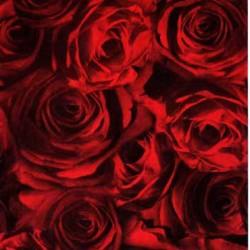 Transparentpapier Rosen Rot, DIN A4, 3 Stk,