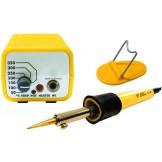 Encaustic Pen mit Temperaturregelung, mit Zeichenspitze, Pinsel und 3 Cauteria Einsätze