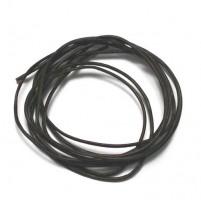 Ziegenlederriemen dunkelbraun 1,5 mm, 2 Stk,