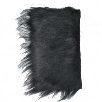 EFCO - Langhaarplüsch 20 x 35 cm schwarz