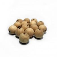 Rohholzkugeln 20 mm, 15 Stück