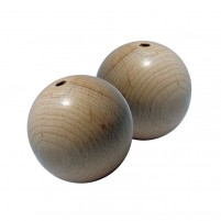 Rohholzkugeln 50 mm, 2 Stk