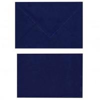 A Doppelkarten + Umschläge, Set B6, Dunkelblau