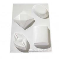 Gießform für Seife, moderne Formen