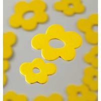 Streu Blüte Holz, gelb