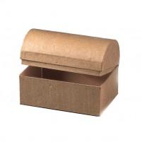 Schatztruhe aus super PappArt Material zum Bemalen und Bekleben. Toll für den Kindergeburtstag!
