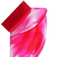 Als perfektes Highlight á la Britto oder Hundertwasser lassen sich unsere Neonfarben einsetzen. Hier Neonpink aus der Encaustic Künstler Wachs Serie in der Gesamtansicht.