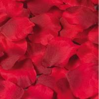 Rosenblüten Blütenblätter Ø 55 mm ca. 50 Stück, dunkelrot