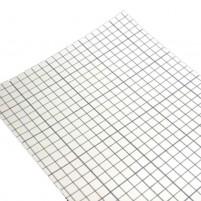Doppelseitig klebende Folie für Encaustic Fotoübermalung, DIN A4, 4 Blatt