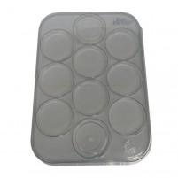 Bewahren Sie Ihre PanPastel Farben praktisch in dieser PanPastel Palette mit Deckel auf.