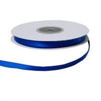 Satinband 6 mm, Rolle mit 25 Metern, Blau