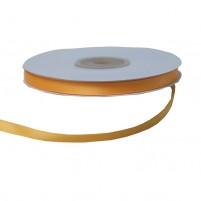 Satinband 6 mm, Rolle mit 25 Metern, Sonnengelb