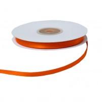 Satinband 6 mm, Rolle mit 25 Metern, Orange