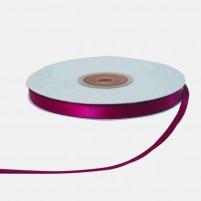 Satinband 6 mm, Rolle mit 25 Metern, Magenta