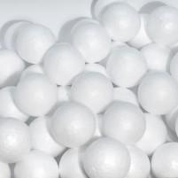 Weiße Styroporkugeln 4 cm, 50 Stk.