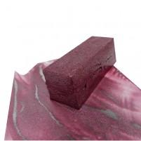 Künstler Wachsfarbe für Encaustic Malerei, Metallic Rot Wachsblock mit echten Metallpigmenten. Encaustic Wachs für höchste Ansprüche, handgemacht in Deuschland.