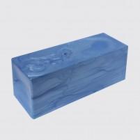 Unsere neuen Encaustic Perlmuttfarben Wachsfarben mit herrlichem Perlmuttschimmer. Hier ist die Encaustic Perlmutt Wachsfarbe Blau