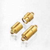 Magnetschließe in Gold Farben 20mm 2 St, Pack