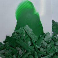 Encaustic Farbpigment Grün. Hochintensives, leuchtendes Pigment zum selber Herstellen von Encaustic Wachsfarben.