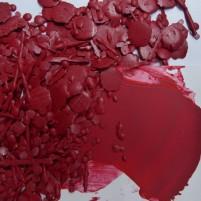 Encaustic Farbpigment Rot - Karminrot. Hochintensives, leuchtendes Pigment zum selber Herstellen von Encaustic Wachsfarben.