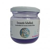 Encaustic Schellack in kräftigem Violett für tolle Schellack Effekte in Ihrem Encaustic Bild.