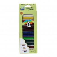 13 leuchtende Wachsfarben für Encaustic Malerei in schöner Geschenkverpackung.