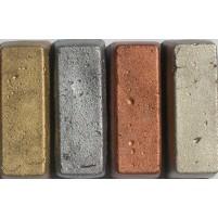 Encaustic Metallicfarben-Sortiment, 4 große Blöcke: gold, Silber, Antik, Kupfer - Metallictöne