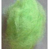 Filzwolle / Kardwolle 30 g, Hellgrün