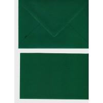 A Doppelkarten + Umschläge, Set B6, Dunkelgrün
