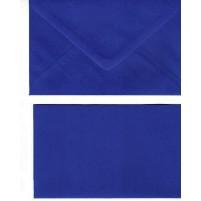 A Doppelkarten + Umschläge, Set B6, Royalblau