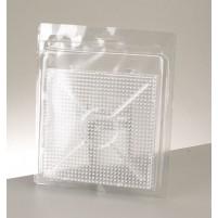 Photo Pearls®, Legeplatte 15 x 15 cm, 2 Stk,