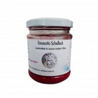 Encaustic Schellack, 100 g im Gläschen, Rot
