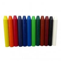 Tolles Encaustic Wachsfarben Sortiment mit 12 Wachsstäbchen in Grundfarben. Sparen Sie sich das mühsame Aussuchen und bestellen Sie mit einem Klick.